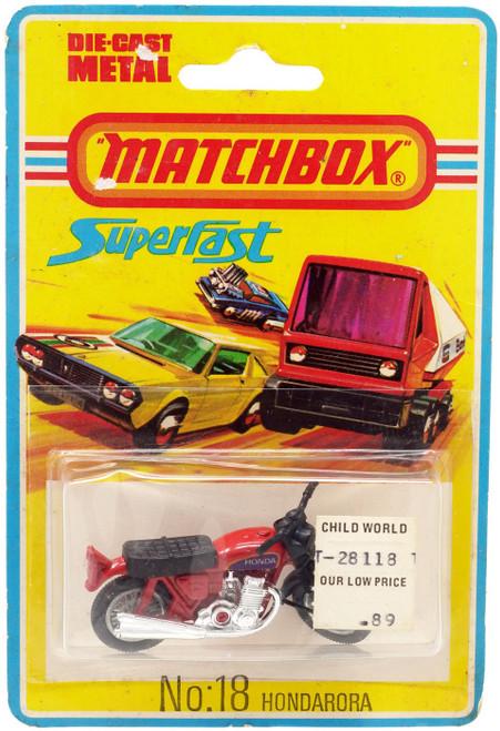 Matchbox Superfast No: 18 Hondarora Diecast Vehicle