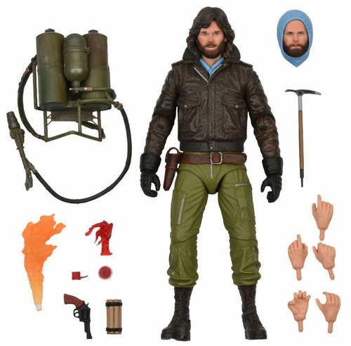 NECA The Thing MacReady Action Figure [Ultimate Version, Station Survival] (Pre-Order ships November)