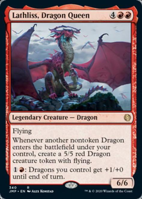 MtG Jumpstart Rare Lathliss, Dragon Queen #340