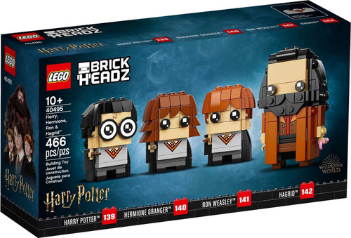 LEGO Harry Potter Brick Headz Harry, Hermione, Ron & Hagrid Set #40495