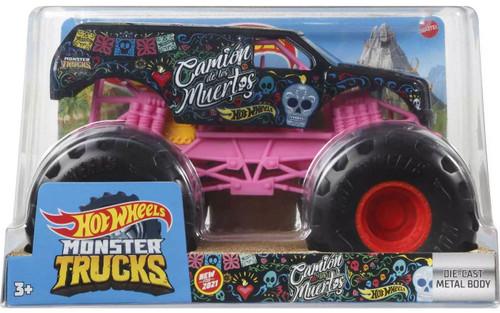 Hot Wheels Monster Trucks Camion Muertos Diecast Car