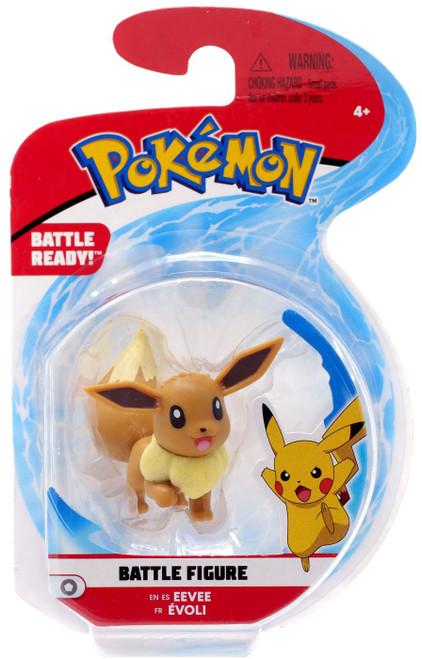 Pokemon Battle Figure Eevee 2-Inch Mini Figure