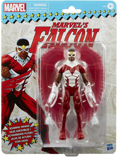 Marvel Legends Vintage (Retro) Series Falcon Action Figure (Pre-Order ships March)