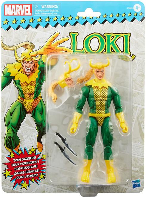 Marvel Legends Vintage (Retro) Series Loki Action Figure (Pre-Order ships March)
