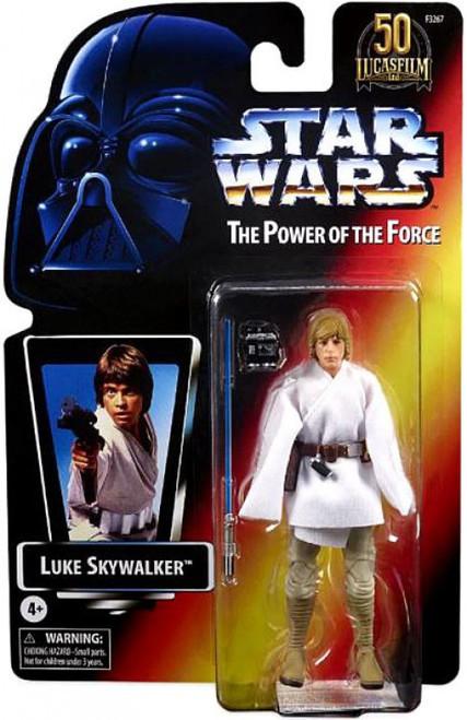 Star Wars Power of the Force Black Series Lucasfilm 50th Anniversary Luke Skywalker Action Figure [POTF]