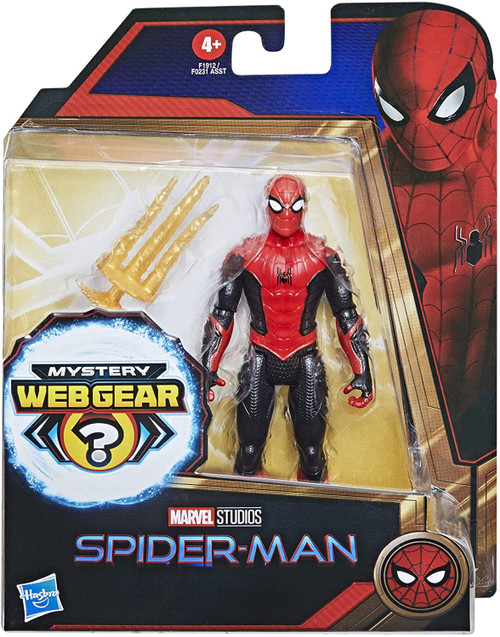 Marvel Spider-Man 3 Movie Spider-Man Black & Red Suit Basic Action Figure