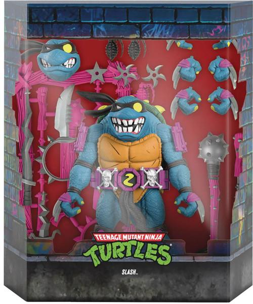 Teenage Mutant Ninja Turtles Ultimates Wave 6 Slash Action Figure (Pre-Order ships October 2022)