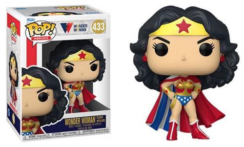 Funko DC 80th Anniversary Classic Wonder Woman Vinyl Figure #433 [with Cape] (Pre-Order ships November)