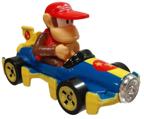 Hot Wheels Mario Kart Mach 8 Diddy Kong Diecast Car [Loose]