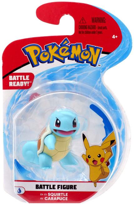 Pokemon Battle Figure Squirtle 2-Inch Mini Figure