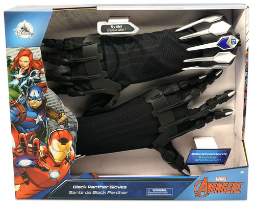 Disney Marvel Avengers Infinity War Black Panther Gloves Exclusive Roleplay Toy [2021]