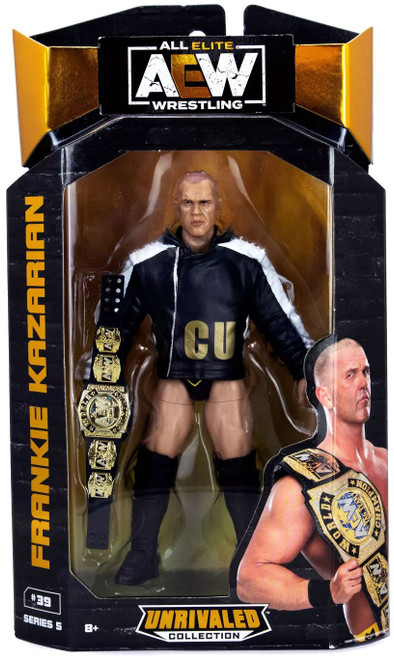 AEW All Elite Wrestling Unrivaled Collection Series 5 Frankie Kazarian Action Figure