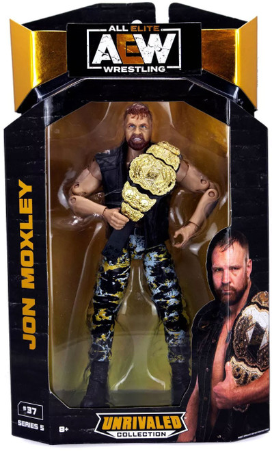 AEW All Elite Wrestling Unrivaled Collection Series 5 Jon Moxley Action Figure