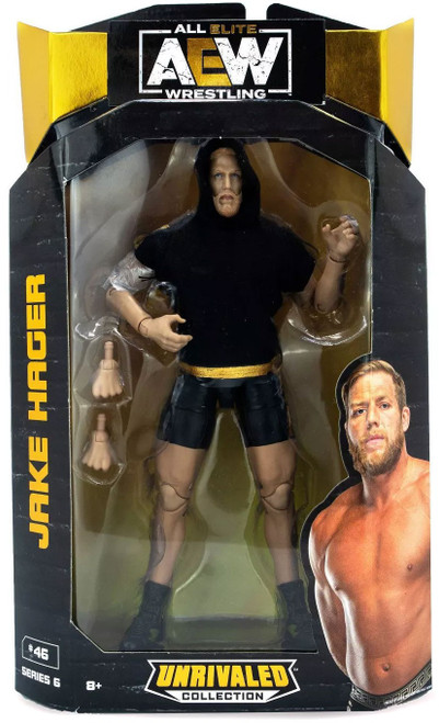 AEW All Elite Wrestling Unrivaled Collection Series 6 Jake Hager Action Figure