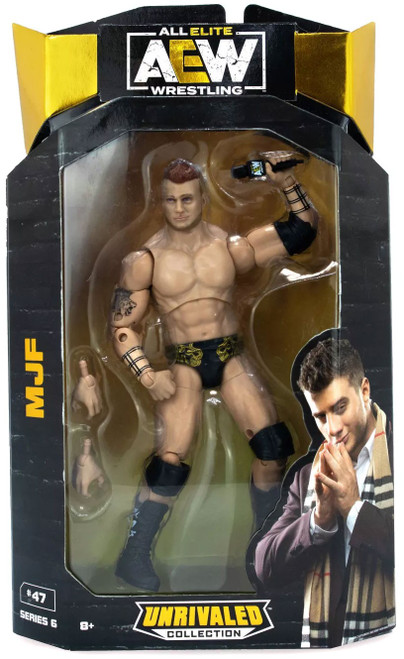 AEW All Elite Wrestling Unrivaled Collection Series 6 MJF Action Figure