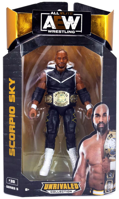 AEW All Elite Wrestling Unrivaled Collection Series 5 Scorpio Sky Action Figure
