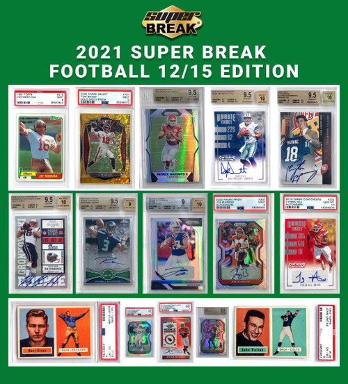 NFL 2021 12/15 Football Edition Trading Card Box [1-2 BuyBack Cards Per Box] (Pre-Order ships January)