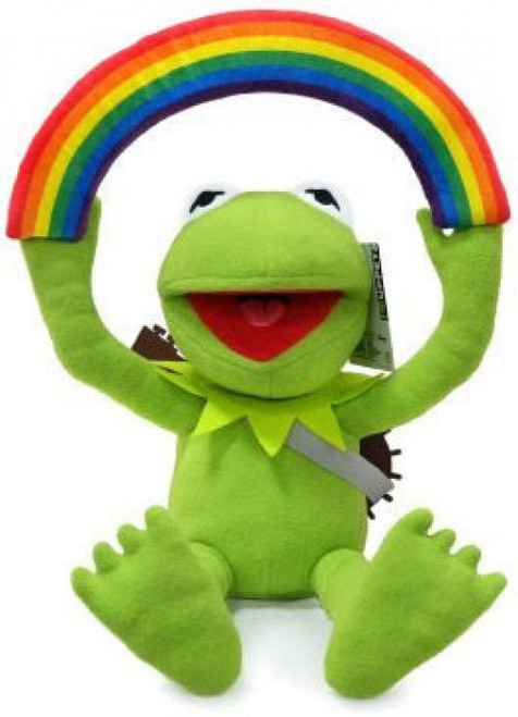The Muppets Rainbow Connection Kermit 13-Inch Plush (Pre-Order ships January)