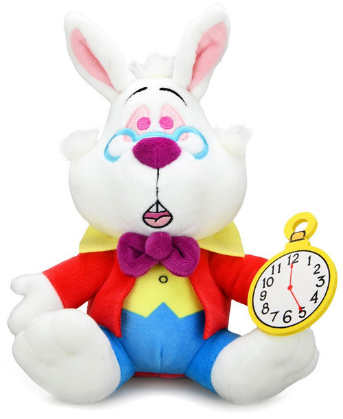 Disney Alice in Wonderland Phunny White Rabbit 8-Inch Plush (Pre-Order ships January)