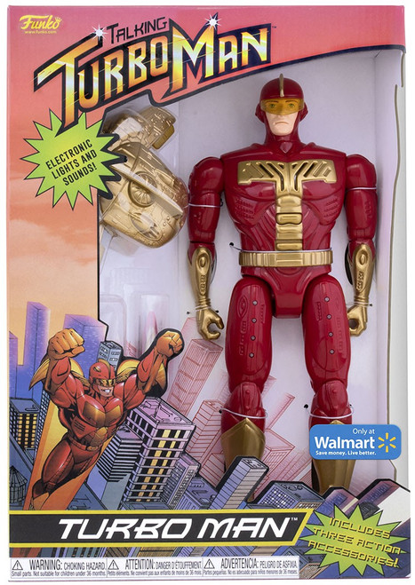 Funko Jingle All The Way Turbo Man Exclusive Action Figure