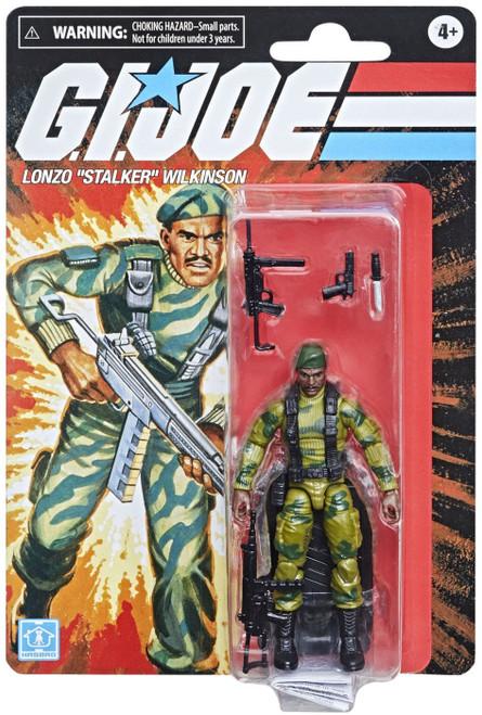 "GI Joe Retro Collection Lonzo ""Stalker"" Wilkinson Exclusive Action Figure"