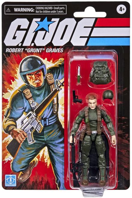 "GI Joe Retro Collection Robert ""Grunt"" Graves Exclusive Action Figure"
