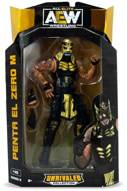 AEW All Elite Wrestling Unrivaled Collection Series 6 Penta El Zero M Action Figure