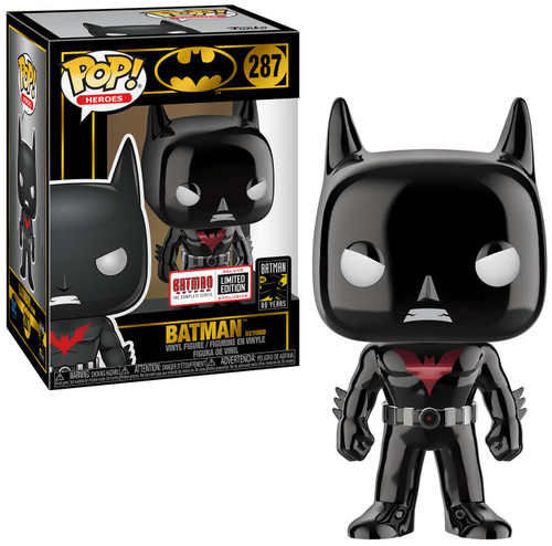 Funko DC Batman 80th POP! Heroes Batman Beyond Exclusive Vinyl Figure #287