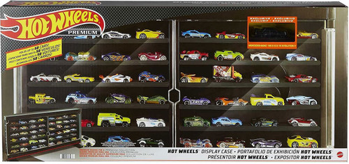 Hot Wheels Stores Up To 50 Cars Display Case [Mercedes-Benz 190E]