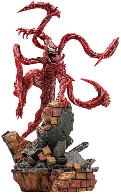 Marvel Venom: Let There Be Carnage Art Scale BDS Series Carnage Statue (Pre-Order ships January 2023)