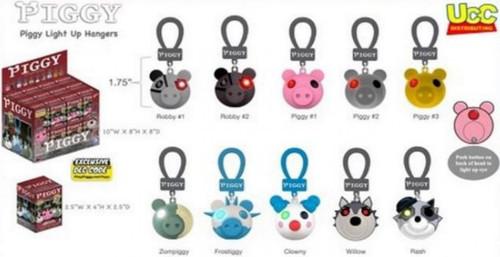 Light-Up Hanger Piggy Mystery Box [24 Packs] (Pre-Order ships November)