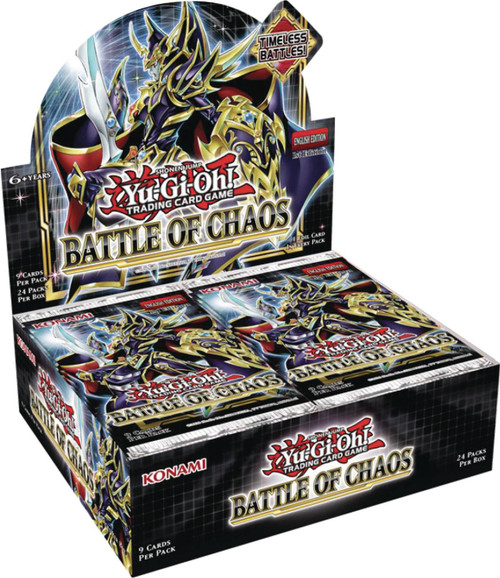 YuGiOh Trading Card Game Battle of Chaos Booster Box [24 Packs] (Pre-Order ships February)