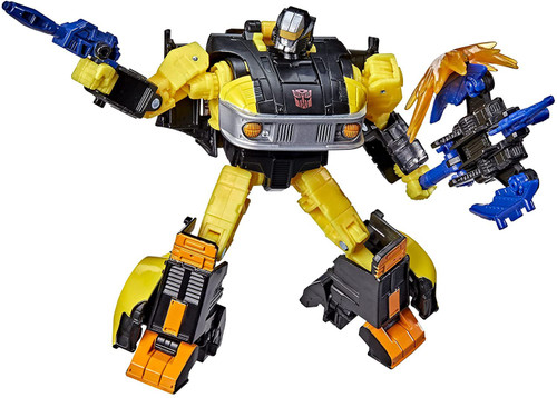 """Transformers Generations War for Cybertron Golden Disk Collection Chapter 2 Autobot Jackpot with Sights Exclusive 5.5"""" Action Figure (Pre-Order ships March)"""
