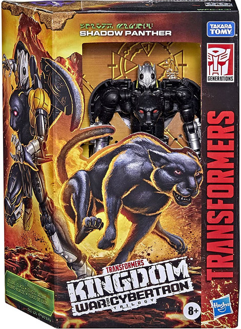Transformers Generations Kingdom: War for Cybertron Trilogy Shadow Panther Deluxe Action Figure (Pre-Order ships November)