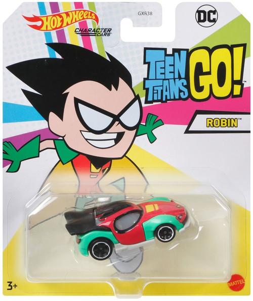 Hot Wheels DC Teen Titans GO! Character Cars Robin Diecast Car