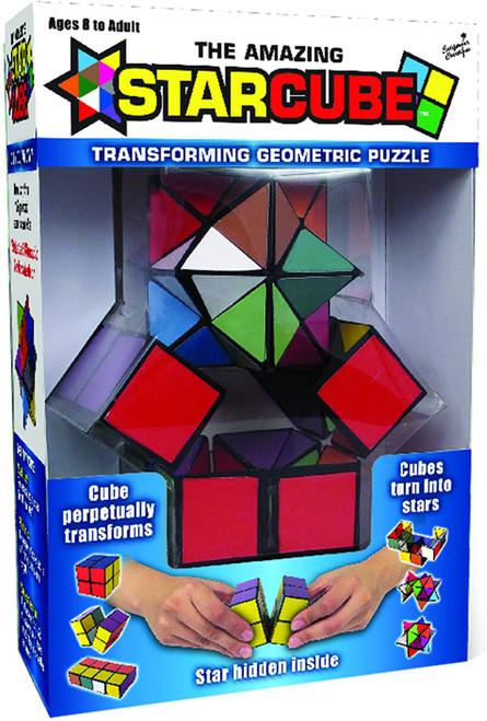 The Amazing Starcube Transforming Geometric Puzzle Cube