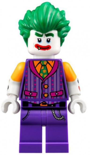 DC Universe Super Heroes The LEGO Batman Movie The Joker Minifigure [Vest, Smile with Fang Loose]
