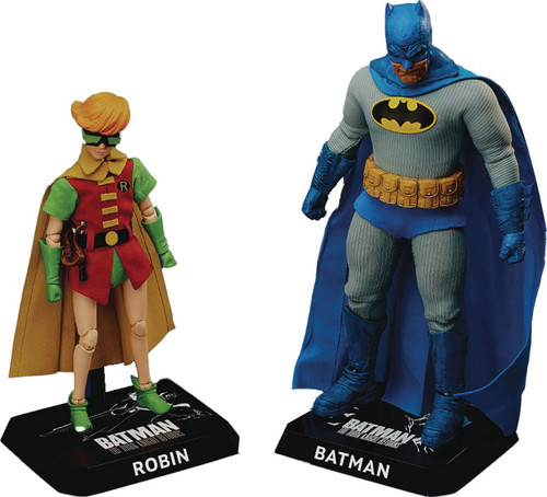 DC The Dark Knight Dynamic 8-ction Heroes Robin & Batman Set of 2 Action Figures DAH-044DX [The Dark Knight] (Pre-Order ships August)