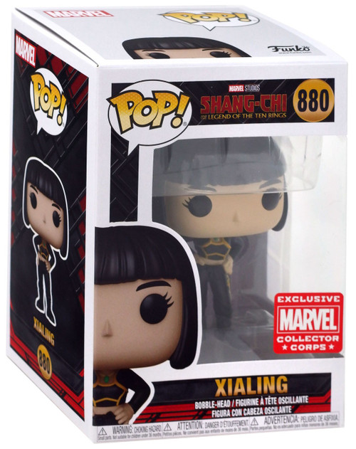 Funko Marvel Shang-Chi and the Legend of the Ten Rings Xialing Exclusive Vinyl Figure #880