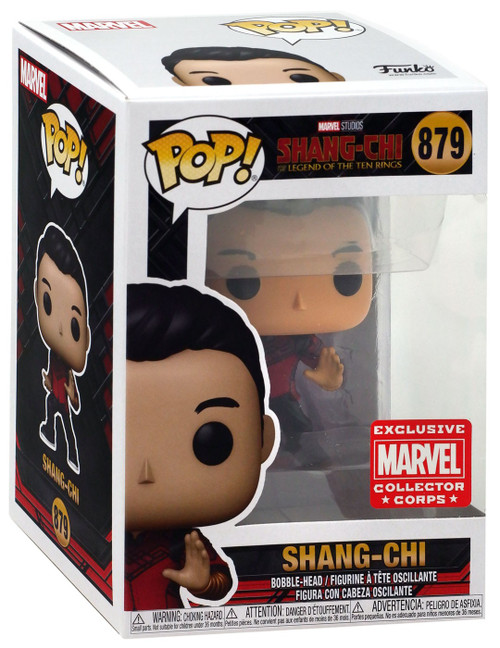 Funko Marvel Shang-Chi and the Legend of the Ten Rings Shang-Chi Exclusive Vinyl Bobble Head #879 [Fight Pose]
