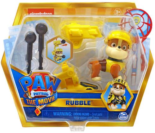 Paw Patrol The Movie Rubble Figure