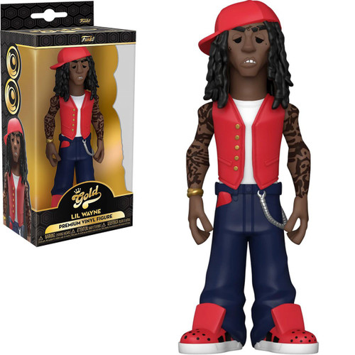 Funko Gold Lil Wayne 5-Inch Vinyl Figure (Pre-Order ships November)