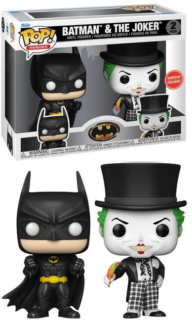Funko 1989 Movie POP! DC Batman & Joker Exclusive Vinyl Figure 2-Pack (Pre-Order ships November)