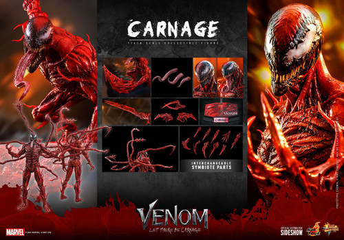 Marvel Venom: Let There Be Carnage Carnage Collectible Figure [Non-Refundable Deposit] (Pre-Order ships March 2023)