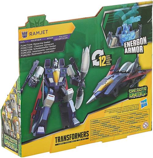Transformers Bumblebee Cyberverse Adventures Ramjet Ultra Action Figure