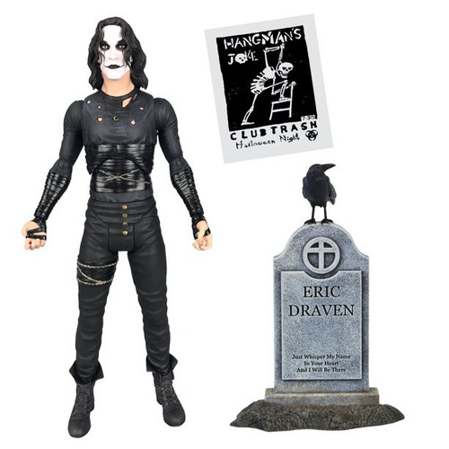 The Crow VHS Eric Draven Exclusive Deluxe Action Figure (Pre-Order ships November)