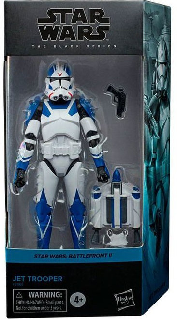 Star Wars Battlefront II Black Series Jet Trooper Action Figure [Gaming Greats] (Pre-Order ships January)