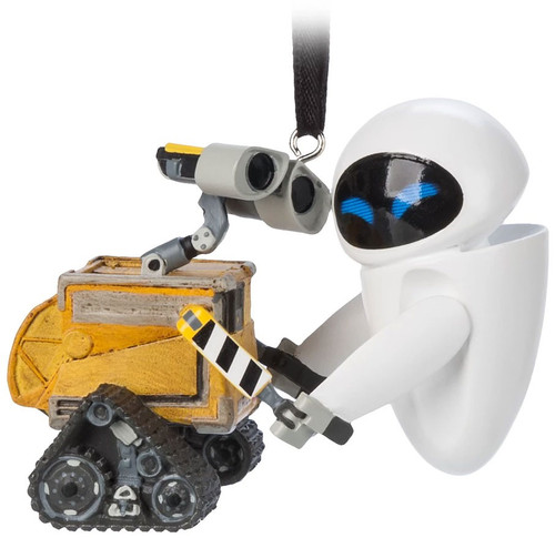 Disney / Pixar WALL-E & E.V.E. Exclusive Ornament [Hugging]