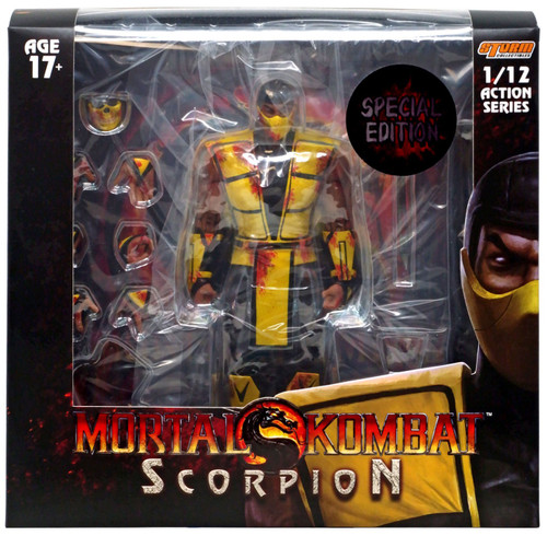 Mortal Kombat 3 Scorpion Action Figure [Special Edition, Bloody]