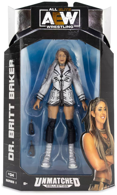 AEW All Elite Wrestling Unmatched Collection Series 1 Dr. Britt Baker Action Figure